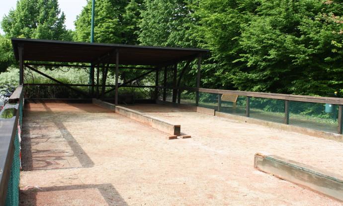 Parco Hayez - Campo bocce